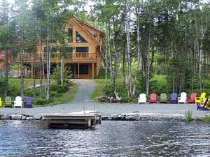 Luxury Log Home for Sale