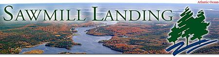 Sawmill Landing Logo